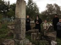 Митрополит Корнилий на тураевском старообрядческом кладбище