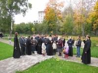 Глава старообрядческой церкви Митрополит Корнилий посещает Лыткаринский музей