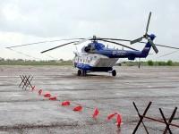 Полицейский вертолет МВД в Мячково