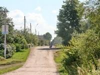 Центральная улица в деревне Андреевское