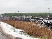 Освоение сельхоз земель у поворота на Андреевское и очистных сооружений