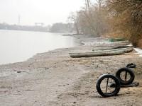 Берег у Андреевского после спуска воды