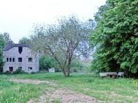Дом-призрак у запруды