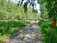 Дорога к СНТ Еганово