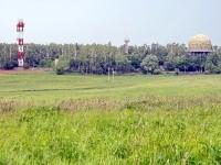 Вид на радиолокационную станцию
