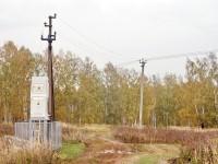 Трансформатор у нефтепровода