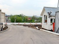 Перекрытая дорога между КП Белый Берег и СНТ Каменный Цветок