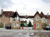 Старый главный въезд в КП Белый Берег