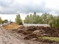 Компания Белый Берег ведет благоустройство территории на берегу Боровского Кургана