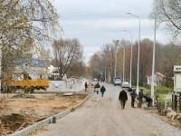 Заасфальтированная дорога - октябрь 2013