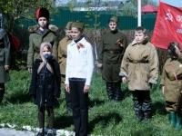 Дети в образе военных лет