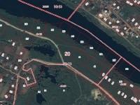 Разметка участков на кадастровой карте Росреестра - участки 260-268