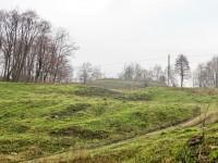 Разрытый склон у Зеленой Слободы