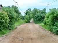 Дорога в Титово готовится к асфальтированию