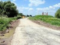 Начало заасфальтированной дороги