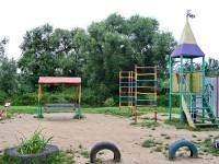 Детская площадка в Кулаково