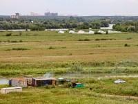Вид с холма слободы на пойму Москва-реки