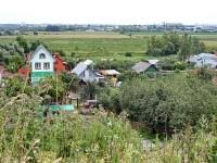 Вид с холма на Михайловскую Слободу