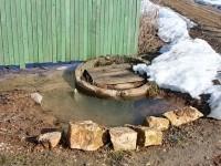 Очередной прорыв водопровода - апрель 2013
