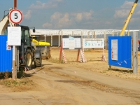 Стройка Торгового парка в Жуковском - сентябрь 2014