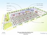 Визуальная концепция будущего торгового центра