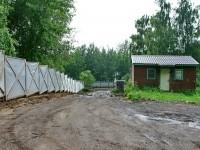 Новый спуск от родника к дороге вдоль реки Москва