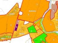 Фрагмент утвержденных правил землепользования и застройки (П-1 - зона в Редькино с возможностью размещения АЗС)