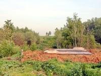 Сооружение илопровода у пруда Подцепня