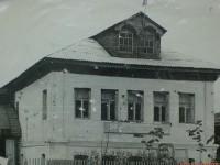 Дом барачного типа в Нижнем Мячково - 60-е годы