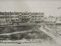 Здание Чулковской школы в 1972 году - год ее открытия