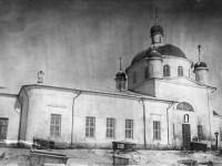 Внешний вид единовреческого храма в селе Михайловская Слобода, 1912 год