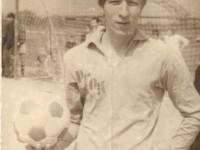 Игрок футбольной команды раменского горно-обогатительного комбината Никитин Павел Петрович: 1975 год