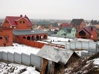 Новая застройка деревни Каменное Тяжино