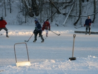Хоккей в Каменном Тяжино