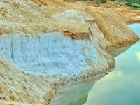Песчаный берег карьера между Еганово и Какузево