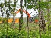 Вид с охранной зоны электросети - май 2012