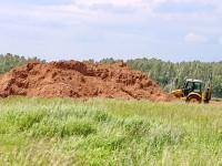 Вскрытие песчаного слоя - май 2012