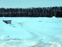 Карьер возле газопровода и нефтепровода у пос Володарского