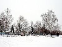 Живописное кладбище в Зеленой Слободе