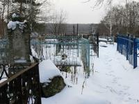 Кладбище в Зеленой Слободе - старое надгробие