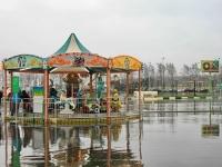 Парк детских аттракционов возле цирка-шапито