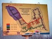 Схема коттеджного поселка Григорчиково