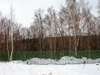 Февраль 2013 - забор вдоль Боровского Кургана