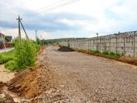 Новая дорога вдоль улицы Соловьиная Роща - июнь 2013