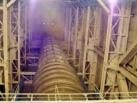Труба вакуумной установки моделирующей космические условия
