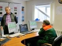 Диспетчерская газопоршневой электростанции