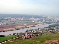 Окраина деревни Андреевское и промзона Тураево