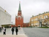 Кремлевский дворец, Троицкая башня и Арсенал