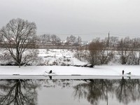 Москва-река у деревни Заозерье