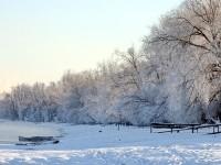 Река Москва у деревни Нижнее Мячково